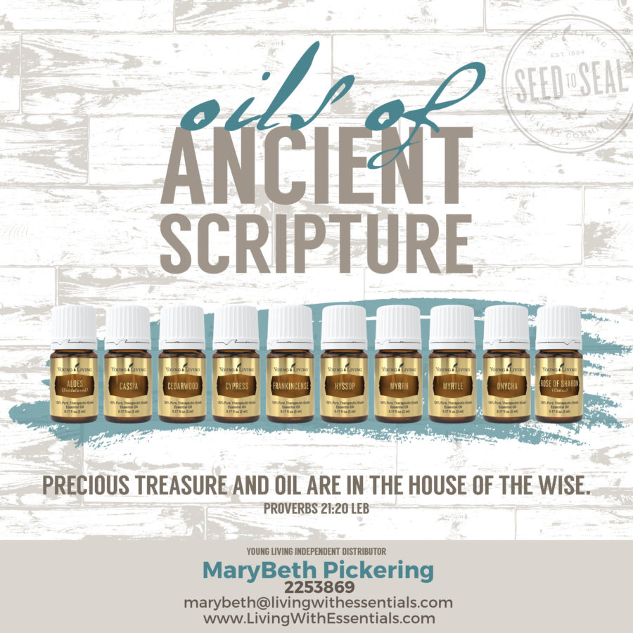 Oils of Ancient Scripture: - Discovering Essential Oils in the Bible