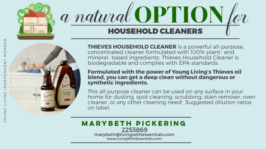 Toxin-Free Family Thieves Household Cleaner