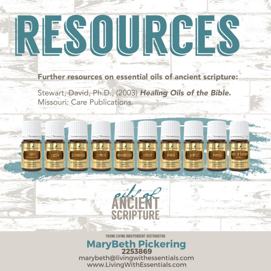 Essential Oils in the Bible - Healing Oils of the Bible