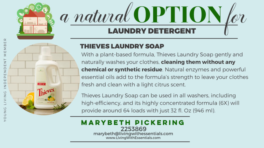 Toxin-Free Family Thieves Laundry Soap