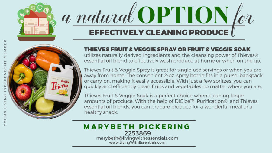 Toxin-Free Family Fruit and Veggie Wash