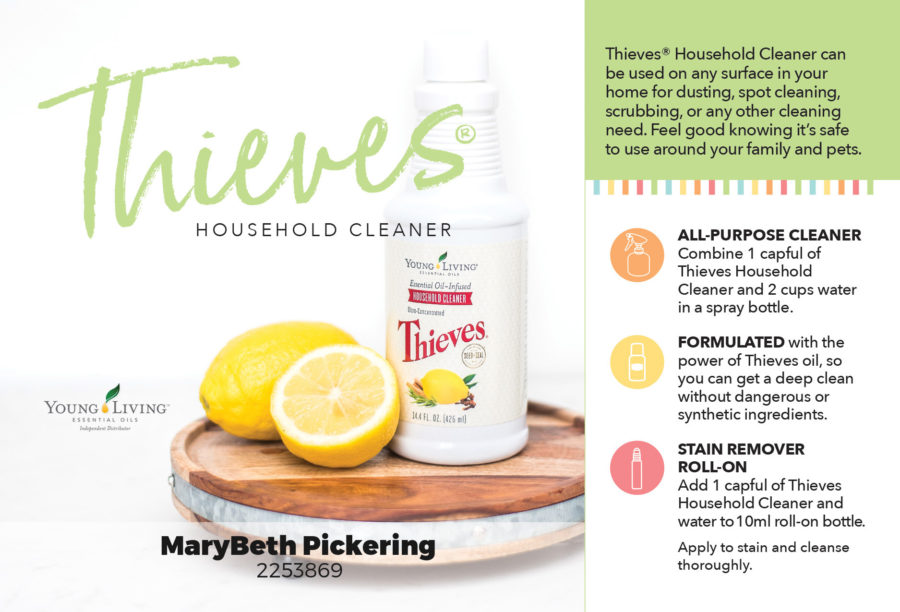 Find out why Thieves Household Cleaner is the only cleaner you need