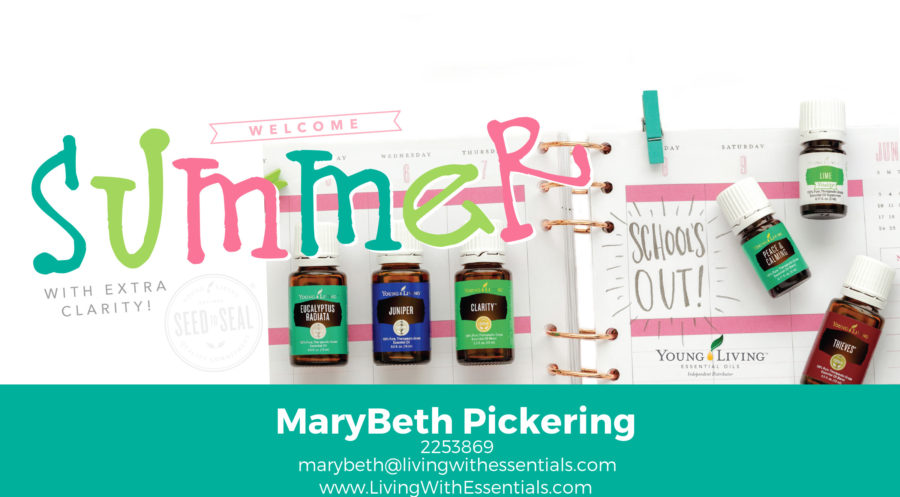 Welcome Summer with some extra Clarity - with the Young Living May 2018 PV Promo!