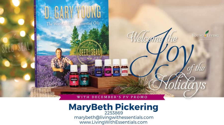 Find Joy and Comfort this Season - with the Young Living December 2018 PV Promo!